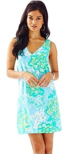 Lilly Pulitzer V-neck Calissa Printed Summer Dress