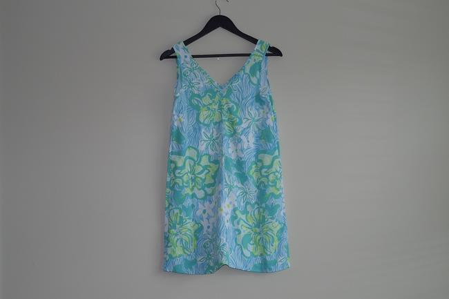 Lilly Pulitzer V-neck Calissa Printed Summer Dress Image 2
