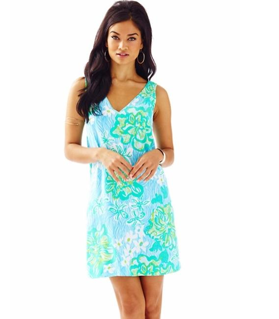 Lilly Pulitzer V-neck Calissa Printed Summer Dress Image 3