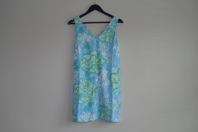 Lilly Pulitzer V-neck Calissa Printed Summer Dress Image 4