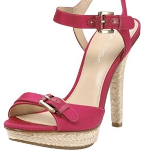 Via Spiga Pink Platforms