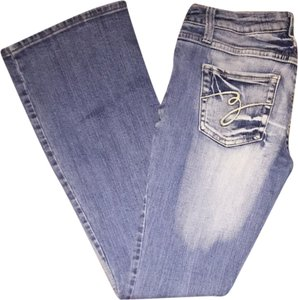 Z Co. Flare Leg Jeans-Distressed