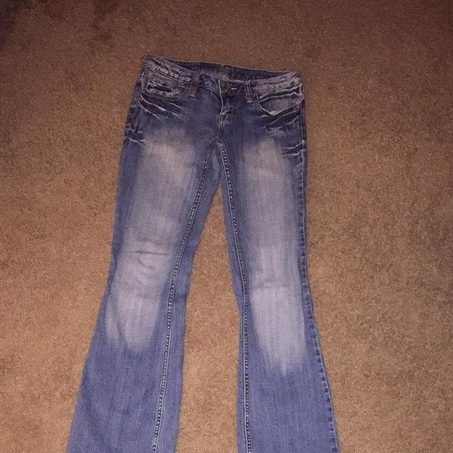 ZCo. Flare Leg Jeans-Distressed