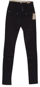Almost Famous Clothing High Waisted Skinny Jeans-Dark Rinse