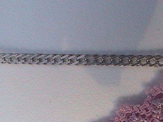 Vintage Italy Sterling Silver Mariner Link Chain
