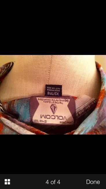 Volcom Top Lavender Multi