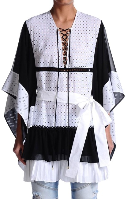 Preload https://img-static.tradesy.com/item/15633115/just-cavalli-multi-color-women-s-belted-tunic-blouse-size-4-s-0-1-650-650.jpg