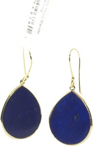 Ippolita IPPOLITA 18K YELLOW GOLD & LAPIS MINI TEARDROP EARRINGS
