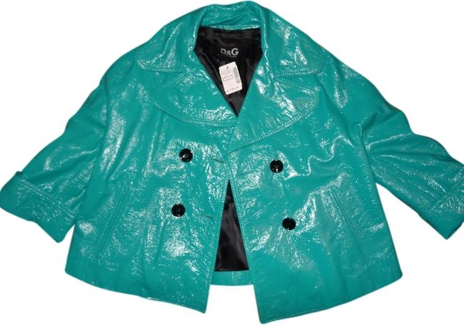 Preload https://img-static.tradesy.com/item/1563366/dolce-and-gabbana-turquoise-blue-dolce-and-gabbana-genuine-patent-double-breasted-jacket-size-6-s-0-0-650-650.jpg