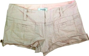 Charlotte Russe Mini/Short Shorts Light Pink