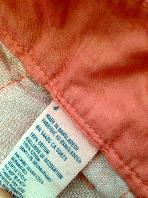 American Eagle Outfitters Mini/Short Shorts Coral