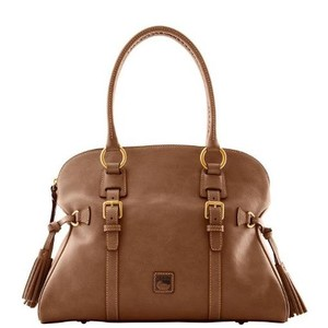 Dooney & Bourke Leather Tote in Taupe