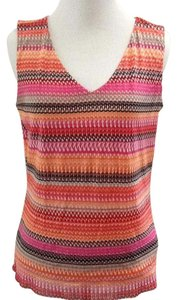 Sigrid Olsen Casual Career Top Multicolor