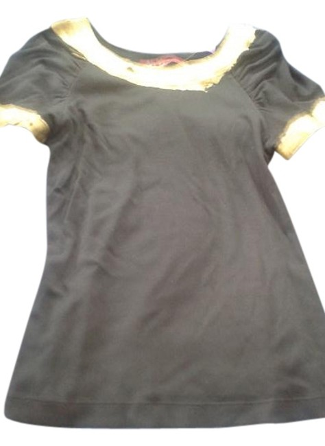 Ribers by Barbara lesser T Shirt black Image 0