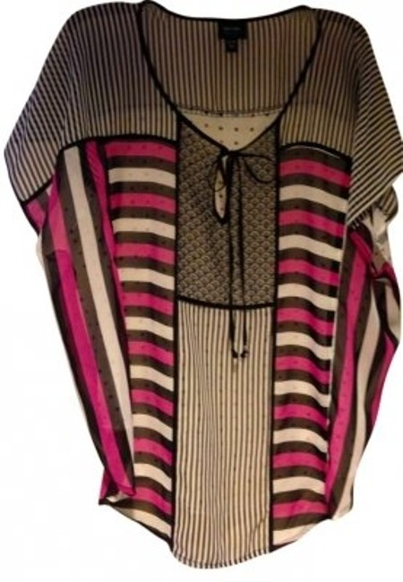 Preload https://item4.tradesy.com/images/nicole-miller-fuchsia-black-and-white-tunic-size-16-xl-plus-0x-156348-0-0.jpg?width=400&height=650