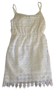Divided by H&M short dress White Bridal on Tradesy