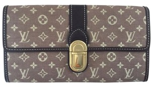 Louis Vuitton LV monogram Mini Lin Louis Vuitton wallet