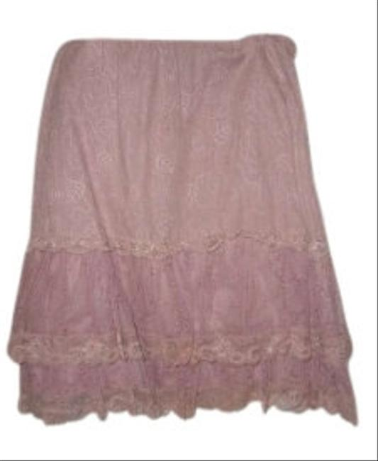 New York City Design & Co. Lace Skirt Pink