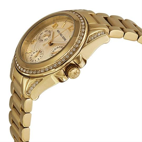 Michael Kors Michael Kors Champagne Dial Crystal Gold-tone Ladies Watch