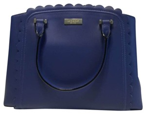 Kate Spade Blue Handbag Sale Hyacinth Satchel in Hyacinth Blue