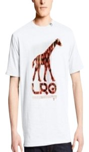 LRG Mens Snow Christmas Ivysclothing.com T Shirt White