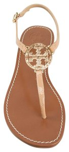 Tory Burch Camilla pink beige tan Sandals