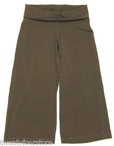 Patagonia Patagonia Serenity Crop - Yoga Gym Active - Roll Down Fold Over Waist -