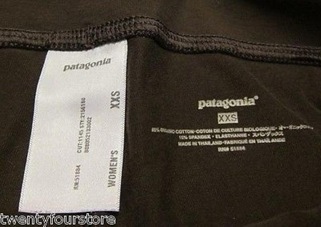Patagonia Patagonia Serenity Crop - Yoga Gym Active - Roll Down Fold Over Waist - Image 2