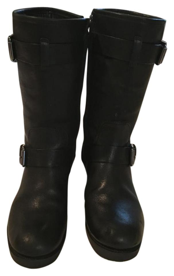 LADY Tory Burch Black Midcalf product Boots/Booties New product Midcalf 6a0cb7