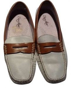 Dexter loafers White/tan Flats