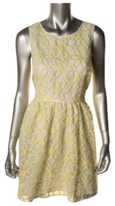 Victoria's Secret short dress White yellow on Tradesy