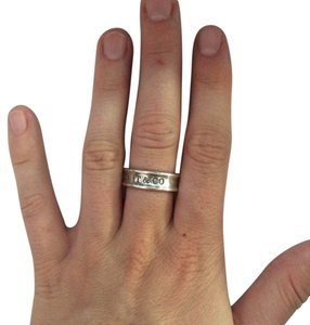 Tiffany & Co. Tiffany & Co. Sterling Silver 1837 Band Ring