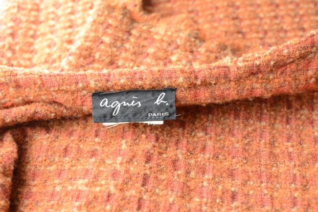 agnes b. short dress Orange Stylist Wool Tweed on Tradesy