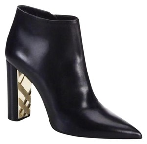 Burberry Leather Logo black Boots