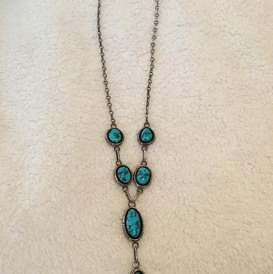 Delbert Vandever Turquoise and sterling silver Navajo Image 1
