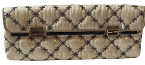 Fendi White Clutch