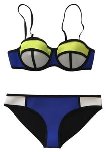 Triangl Triangl Poppy Blue Crush Neoprene Bikini