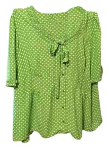 JG Hook Button Down Shirt Lime green