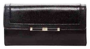 Diane von Furstenberg NEW DVF 440 Continental Wallet, Lizzard Embosed Leather, A1145058G14