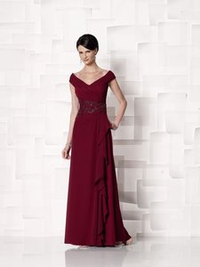 Cameron Blake Wine 213637 Dress