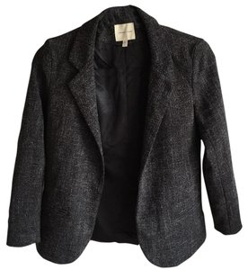Silence + Noise Salt & Pepper Blazer