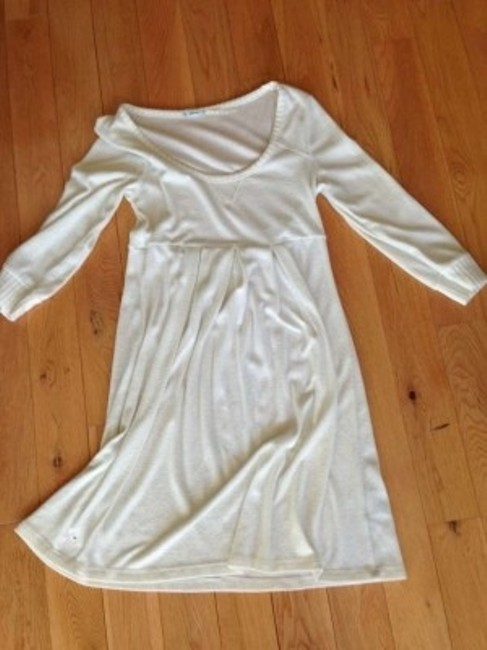 Francesca's short dress cream on Tradesy