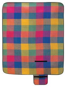 Home Locomotion Modern Plaid Folding Picnic Mat