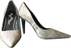 Nina Shoes Metallic Stiletto Heels metallic gold/black Pumps