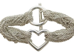 Tiffany & Co. Tiffany & Company Heart Multistrand Mesh Bracelet
