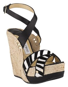 Jimmy Choo Perry Espadrille Wedge Sandals