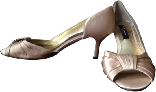 Nina Shoes Wedding Open-toe Heel champagne Formal