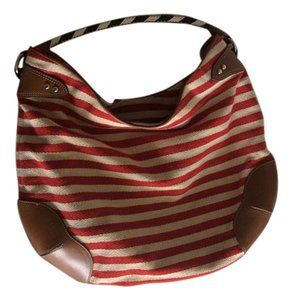 Ralph Lauren Red stripes Beach Bag