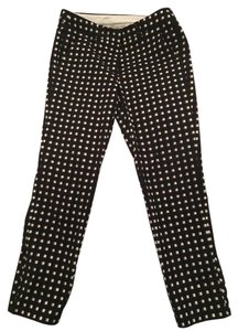 Sportmax Straight Pants Black & White