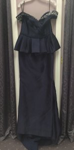 Terani Couture Navy M3477 Dress